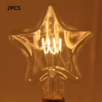 Uncleahtoh 2PCS LOT SB SF WJX E26 E27 4W Warm White LED Flexible Filament Decorative Light