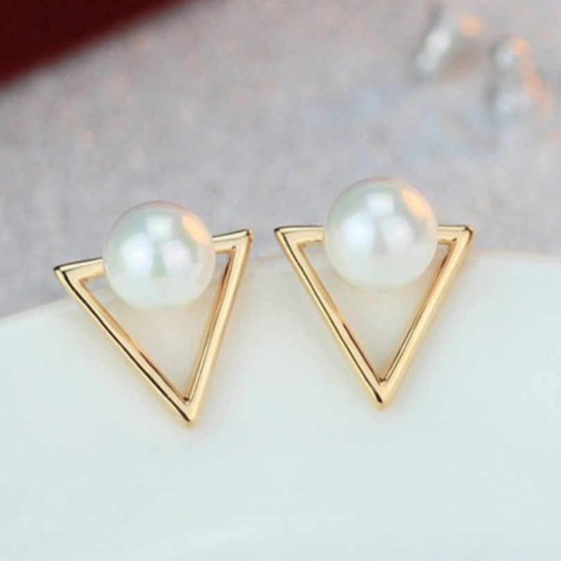 2018 hot sale new fashion jewelry retro triangle earrings personality geometric earrings female elegant bohemian earrings
