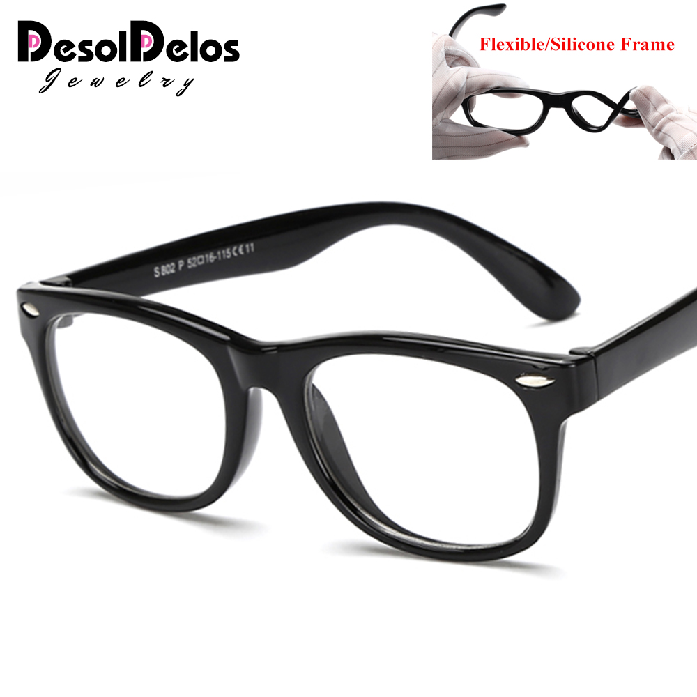 Kids Optical Glasses Frame Child Boy Girl Myopia Prescription Eyeglass Frames Clear Eyewear Spectacle Frame Oculos 2019