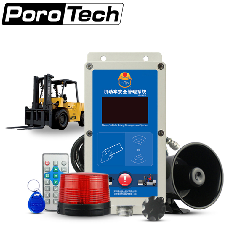 SF-103 Overspeed Alarm Fleet Safety Speed Limiter Management Speed Alarm System for Electric Diesel Forklift computerizing safety management system in syrian shipping company