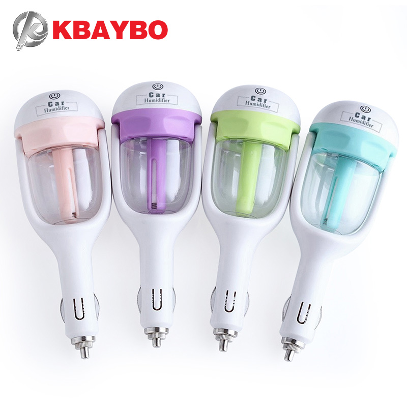 KBAYBO 12V Car Steam Humidifier Air Purifier Aroma Diffuser Essential oil diffuser Aromatherapy Mist Maker Fogger Mini diffuserKBAYBO 12V Car Steam Humidifier Air Purifier Aroma Diffuser Essential oil diffuser Aromatherapy Mist Maker Fogger Mini diffuser