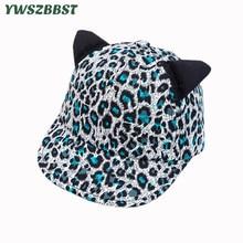 купить New Spring Leopard Print Soft Eaves Children Sun Hats Summer Girls Hat Cotton Baby Boys Baseball Cap Kids Sun Cap дешево