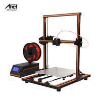 New Anet E12 Easy Assemble Impresora 3D Printer DIY Kit Full Aluminum Imprimante 3D Large Size i3 300 * 300 * 400mm 10MFilament