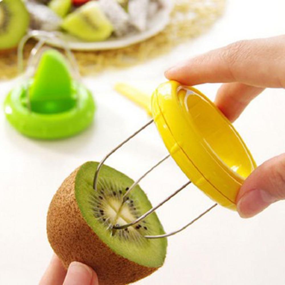 1 PC Multi-functional Vegetable Fruit Cutter Peeler Slicer Pitaya Kiwi Slicer Ki