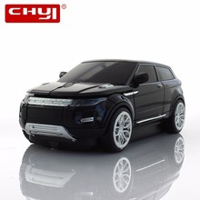 CHYI Wireless Mouse Sports Optical Black 2.4Ghz SUV Car Mice Gaming Game Mouse