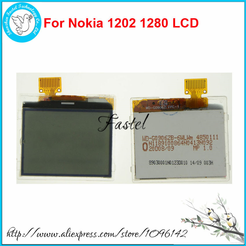 For <font><b>Nokia</b></font> 1202 1202-2 RH-112 1203 <font><b>1280</b></font> repair replacement New High Quality Mobile Phone LCD <font><b>display</b></font> screen+Tools+Free Shipping image