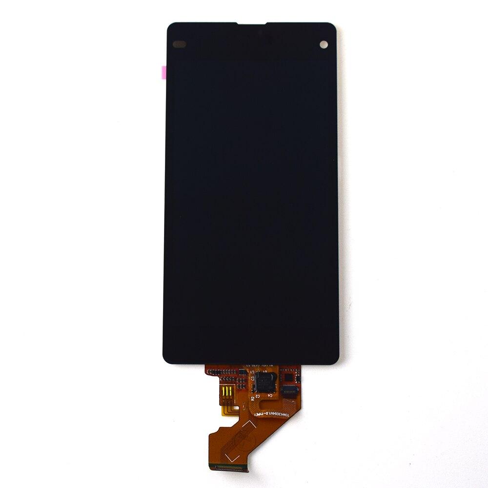 Pour Sony Xperia Z1 Mini Compact D5503 M51W Écran Tactile Digitizer Capteur En Verre Panneau + Écran LCD Moniteur à Écran Assemblée
