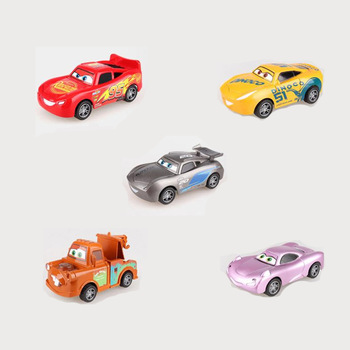 Disney Pixar Cars 3 For Kids Jackson Storm Cruz Ramirea High Quality Plastic Cars Toys Cartoon Models Christmas Gifts image