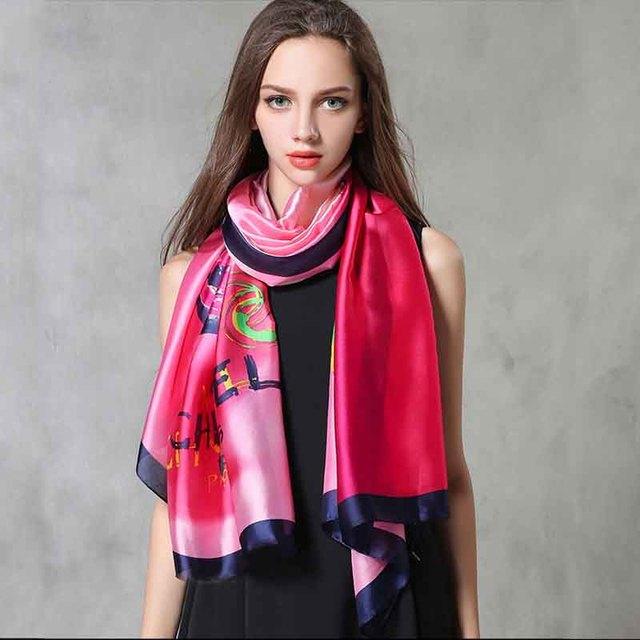 Mulheres lenços de seda wraps impresso lenços hijabs cachecol design de moda marca de estilo britânico casuais femme luxo 90*180 azedo lemon