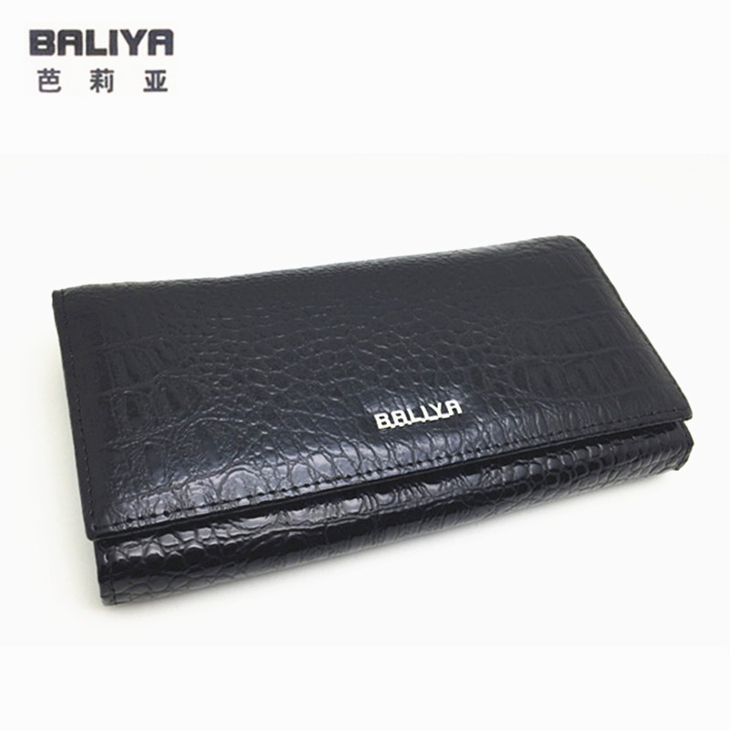 Fashion Alligator genuine leather women wallets hasp long cowhide wallet free shipping
