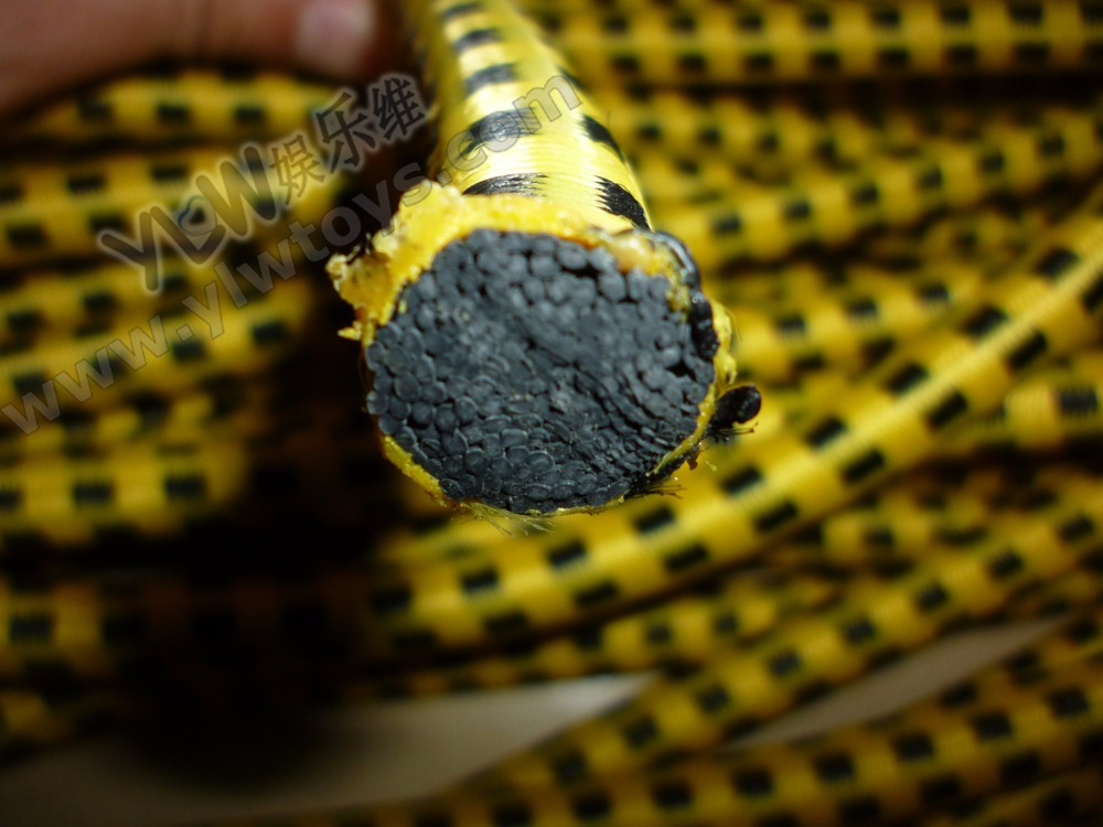 желтая веревка пакета, 12-миллиметровые веревки пакета упругие веревки, 12-миллиметровые упругие кабели для профессиональных батутов Ленты сопротивления