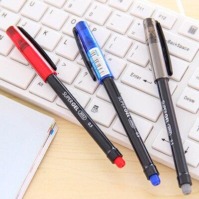 6 Pcs Lot Monami Super Gel Pen 0 5mm 3 Color Pens Office Supply Lapices