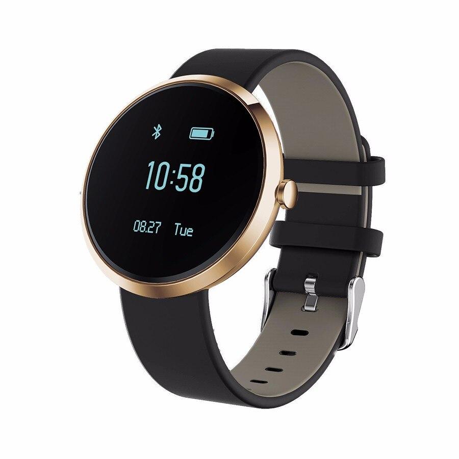 imágenes para Pulseras inteligentes V06 Heart Rate Monitor de Presión Arterial la Actividad Deportiva reloj Reloj Impermeable Pk v8 gt08 PA338 Para iphone 6 6 s