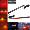 8inch Professional Car 32 LED Flexible Strip Tail Lights Turn Signal Brake Indicator for Motorcycle
