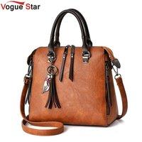Women Fur Handbags 2017 High Quality Printing Women Bags Women PU Leather Shoulder Messenger Bags Sweet