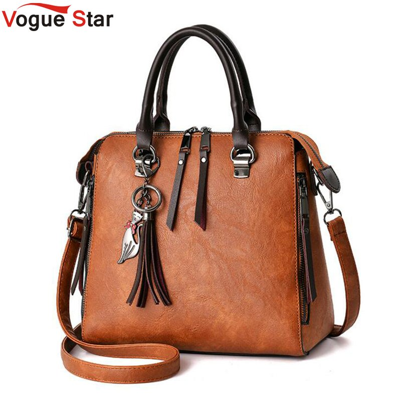 Women Fur Handbags 2018 High Quality Printing Women Bags Women PU Leather Shoulder Messenger Bags Sweet Tote Bag Bolsa LB340 sweet women s tote bag with color block and pu leather design