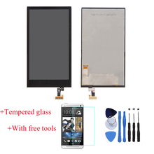 100% Test LCD Display Touch Screen Digitizer Assembly For HTC Desire 510 Black With Free Tools + Tempered Glass Free Shipping