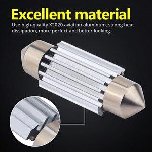 Image 4 - NAO 10x C5W LED Festoon CANBUS 28mm 41mm 44mm 39mm 31mm 36mm C10W led Bulb No Error 12V car interior light Reading singal lamp