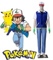 Free Shipping Pocket Monster Ash Ketchum Uniform 3rd Anime Cosplay Costume