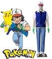 Gratis Pocket Envios Monster Ash Ketchum 3er Uniforme Anime Cosplay Costume