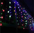 Holiday Lighting 4M 96pcs Balls Led String Light Fairy Curtain String light icicle Lamps For Wedding Christmas Window Decoration