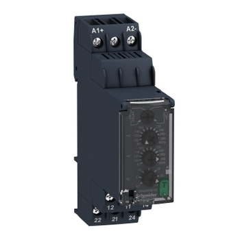 RM22UB34 Voltage control relay 80V…300Vac/dc, 2 C/O replace of old model RM4UB34