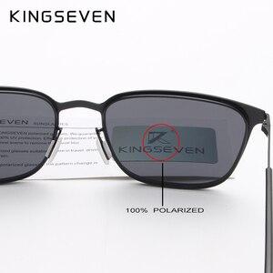 Image 5 - KINGSEVEN Gafas De Sol polarizadas para hombre, lentes De Sol polarizadas clásicas para conducir, viajes, Unisex, 2018