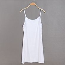 Skirt Dress Take-Petticoat Render Women's Summer with Shoulder-Straps Vest Inside Nightgown-002