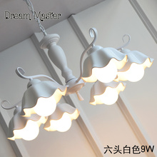 Lámpara de cerámica coreana jardín niños habitación Nordic moderno minimalista sala de estar comedor cocina lámparas