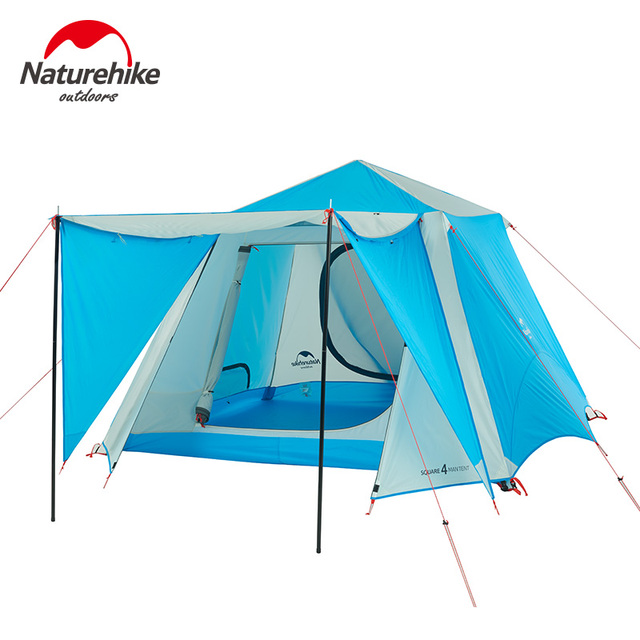 Naturehike Automatic Tents Outdoor Camping 4 6 Person Party Gazebo Tent Four Seasons Waterproof Large Family
