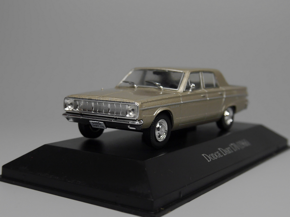 Auto Inn - ixo 1:43 Dodge Dart 170 1966 Diecast car model ixo 1 43 dodge dart dodge daet alloy model cars