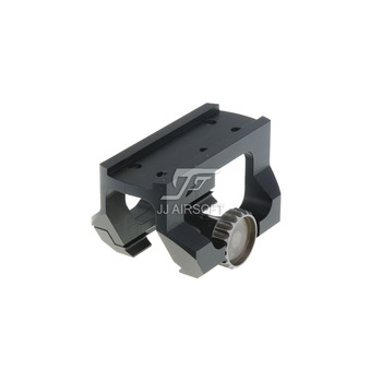 TARGET Low Drag Mount for JJ Airsoft T1 / T-1 Red Dot and TR02 / T2 / T-2 Red Dot (Black/Tan) LDM jj airsoft m2 red dot tan