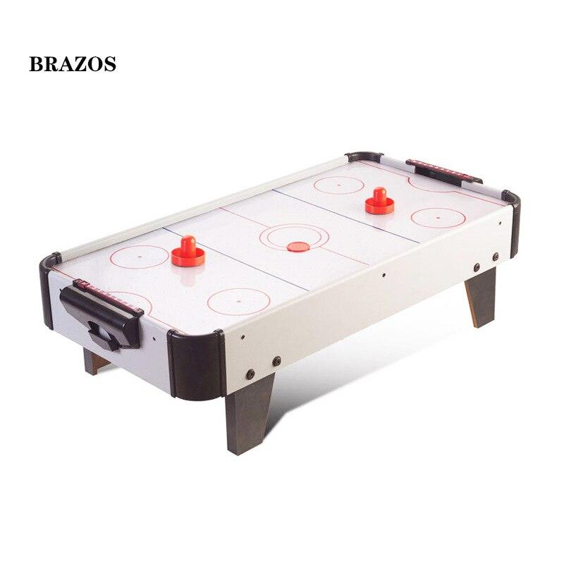 Электрический воздушный хоккей, настольный хоккей, игра, плавающий настольный хоккей, шайба, Детская воздушная шайба, игра, домашняя Семейная Игра, игрушки, быстрая доставка