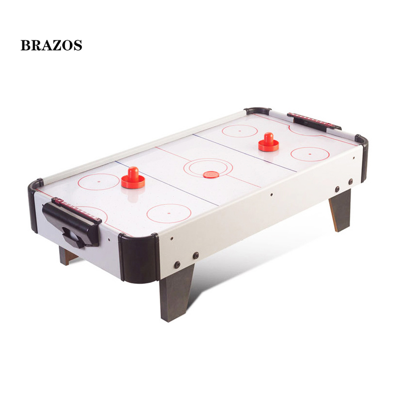 Hockey sur Table électrique jeu de Hockey sur Table flottant rondelle de Hockey sur Table enfants jeu de rondelle d'air intérieur famille jouant jouets expédition rapide