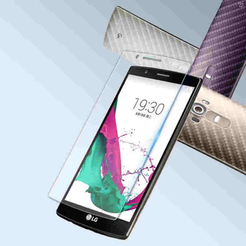 مقاومة للانفجار Lcd المقسى زجاج عليه طبقة غشاء رقيقة ل LG G4C ل LG ماجنا H502 G4C H525N G4 البسيطة واقي للشاشة pelicula دي vidroFor