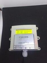 Atmospheric pressure temperature transmitter pressure sensor modbus 485/232 / 0 5v / 4 20ma / relay gas pressure transducer PLC
