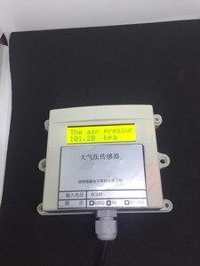 Image 1 - Atmospheric pressure temperature transmitter pressure sensor modbus 485/232 / 0 5v / 4 20ma / relay gas pressure transducer PLC