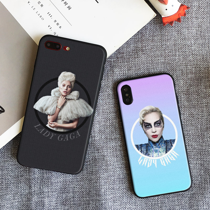Lady Joanne Gaga Mother Monster Soft Silicone Phone Case Cover For Apple IPhone X 8Plus 8 7Plus 7 6SPlus 6s 6Plus 6 Se 5s 5