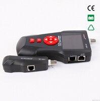 Бесплатная доставка Noyafa NF 8601A Кабельный тестер длины сетевой тестер wiremap для RJ45/RJ11/BNC с PoE/PING тестирование