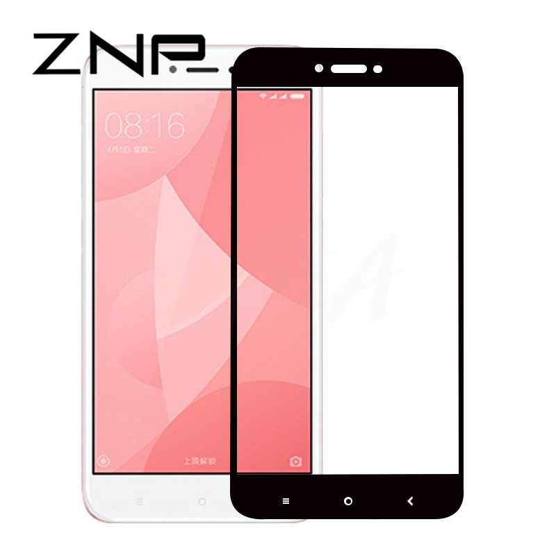 ZNP 9H Protective Full Cover Tempered Glass For Xiaomi Redmi 4 4X 4A 16G 32G Screen Protector For Redmi 4X 4A Glass Film