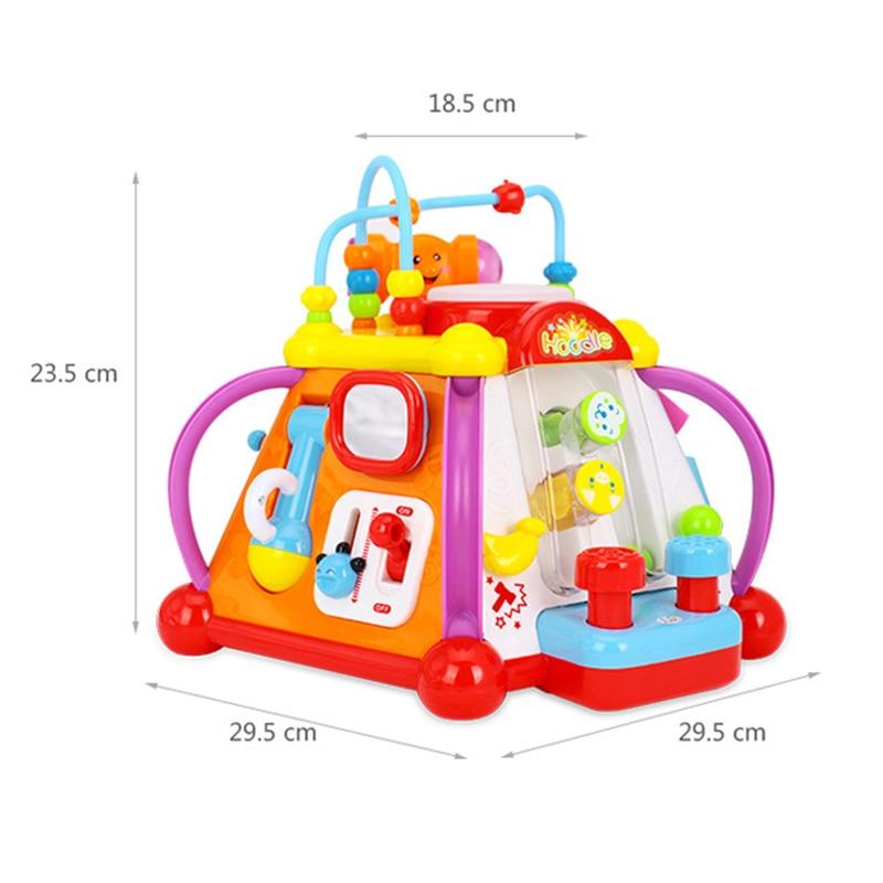 Jouets éducatifs électriques pour enfants bébés éducation de la petite enfance bébé ramper chantant danse jouets cadeaux d'anniversaire - 3
