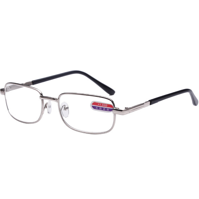 Men Mujeres Clear Optical Glass Lens Metal Frame Presbyopic Reading Glasses For Parents Gift Eyewear R74