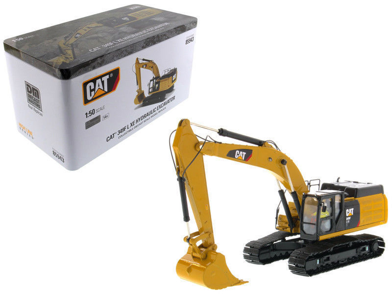 Diecast Toy Model DM 1:50 Caterpillar CAT 349F L XE Hydraulic Excavator Engineering Machinery 85943 for Boy Gift,Collection