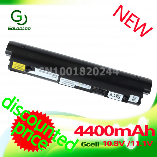 Golooloo Black laptop Battery For IBM Lenovo  IdeaPad S10-2 L09S6Y11 L09C6Y12 L09M6Y11 L09C3B12 L09M3B11 L09C3B11 L09S3B11