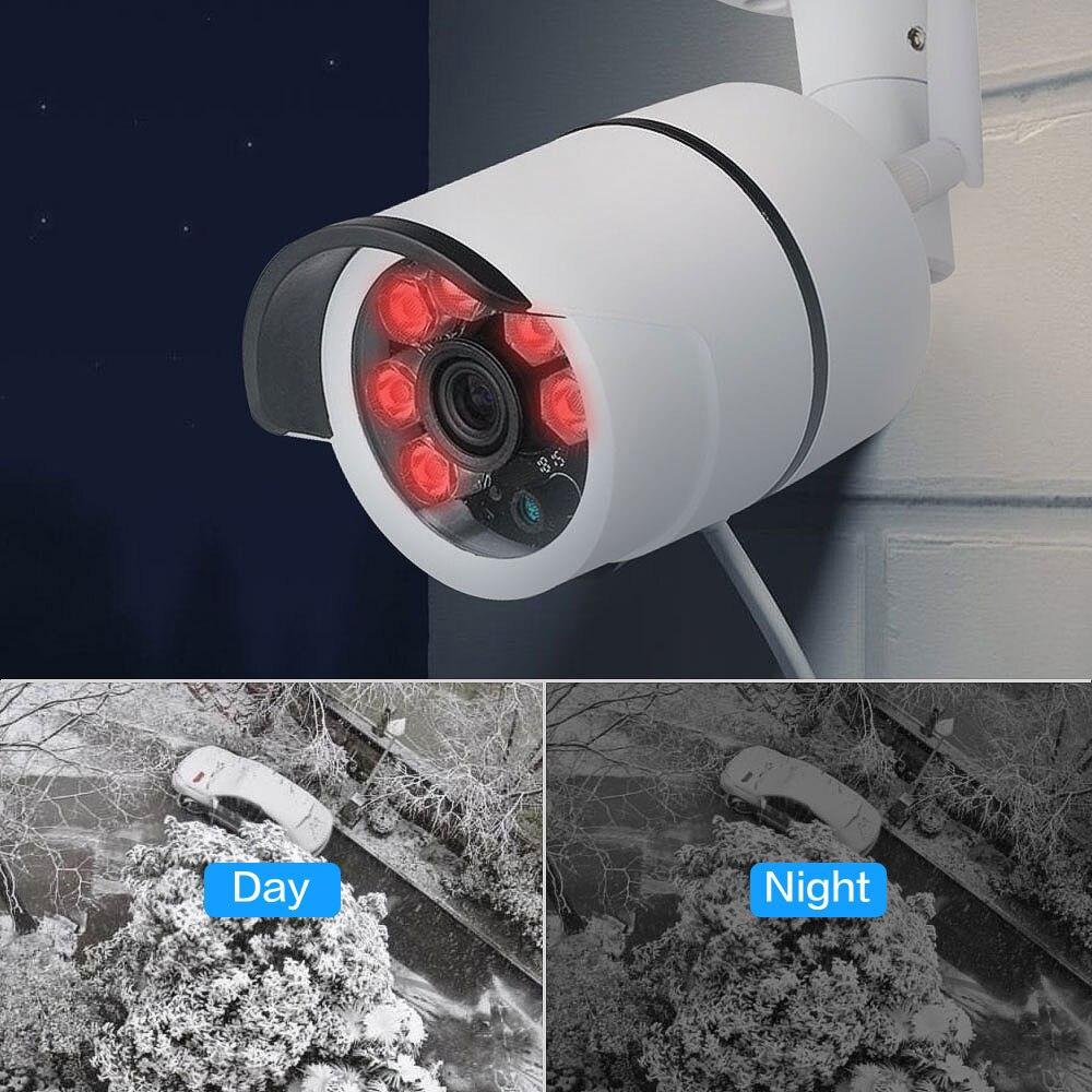 SDETER zewnętrzna wodoodporna kamera typu bullet IP kamera Wifi bezprzewodowa kamera przemysłowa wbudowana karta pamięci 16G kamera telewizji przemysłowej Night Vision