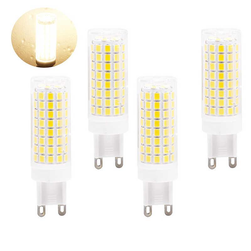 220 V 230 V G9 LED G4 12 V lumière LED ampoule remplacer 10 W 20 W 35 W 50 W lampe halogène pour bougie lustre plafond décoration maison