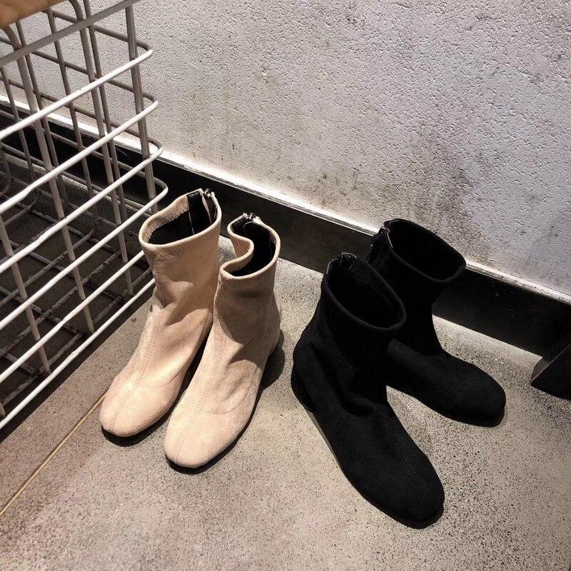 Haut Bottes Style Velours 2019 Nouveau Transport De Et Luxe Mode D'hiver Gratuit Femmes Gamme qnz6xHw