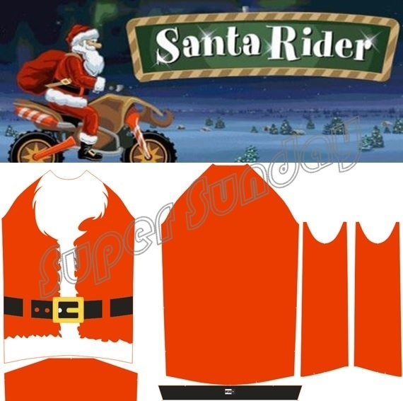 2018 New Long Sleeve Cycling Jersey Santa Claus Sportwear Christmas Bike  Jerseys Red Bicycle Race Clothings Free Shipping SANTA1 a91575adf