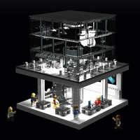 DHL SEMBO SD6900 1116 pièces créateur ville LED Version Street View Apple Store blocs de construction ensembles briques modèle classique enfants jouets