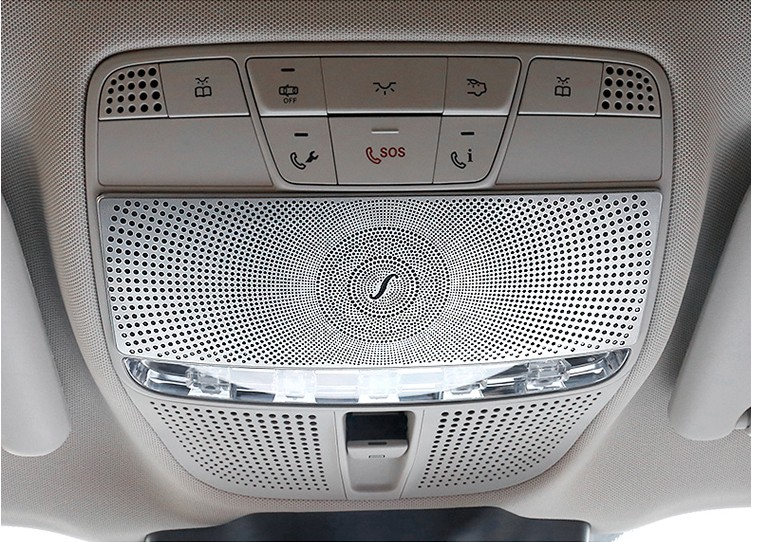 цена на Car Before reading lamp cover sticker For Mercedes Benz 2016-2017 E-class W213